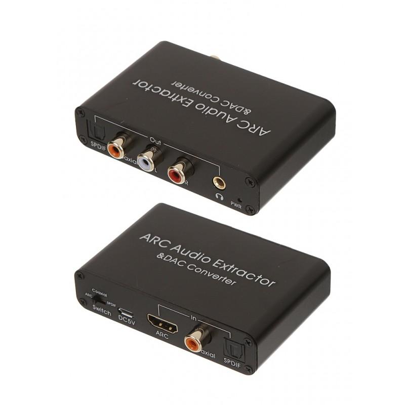 Аксессуар Palmexx HDMI ARC Audio Extractor and DAC Converter PX/AY80