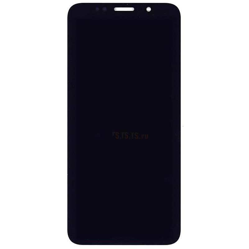 Дисплей Vbparts для Honor 7A матрица в сборе с тачскрином Black 076042