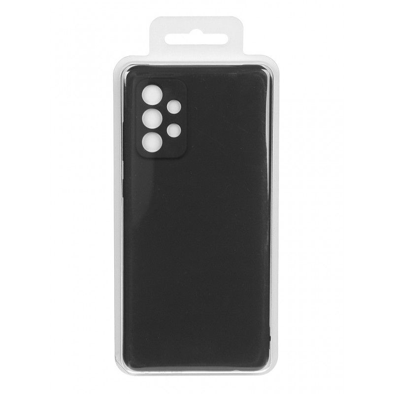 Чехол-накладка для Samsung Galaxy A72 Silicone Cover Black EF-PA725TBEGRU