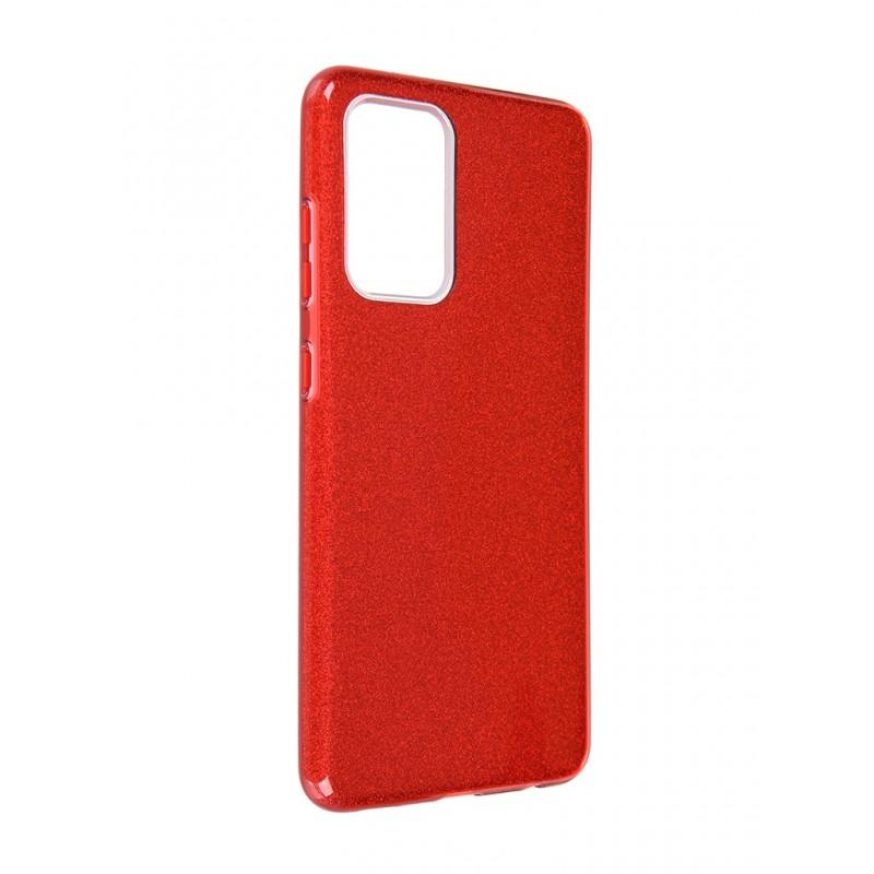 Чехол Neypo для Samsung Galaxy A52 2021 Brilliant Silicone Red Crystals NBRL21953