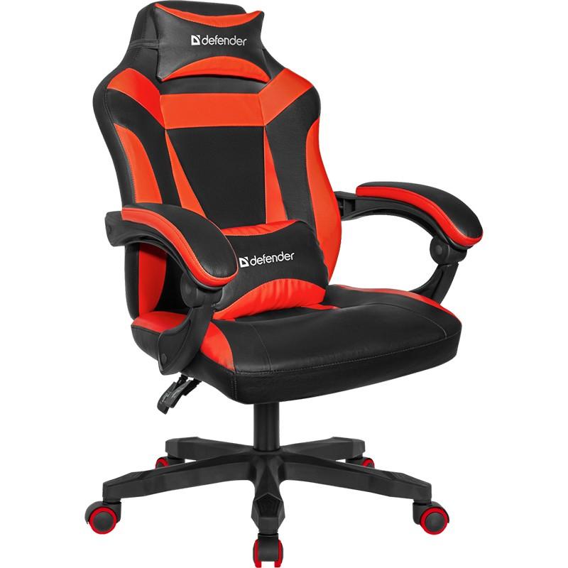 Компьютерное кресло Defender Master Black-Red 64359