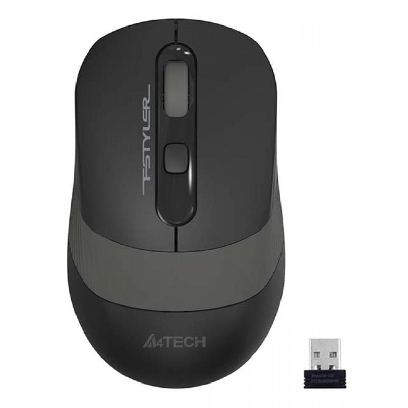 Мышь A4Tech Fstyler FG10 Black-Grey