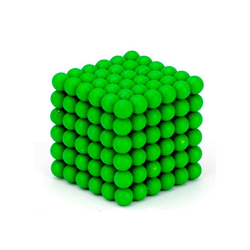 Магниты Forceberg Cube 5мм 216 элементов Glow in the Dark 9-4818060
