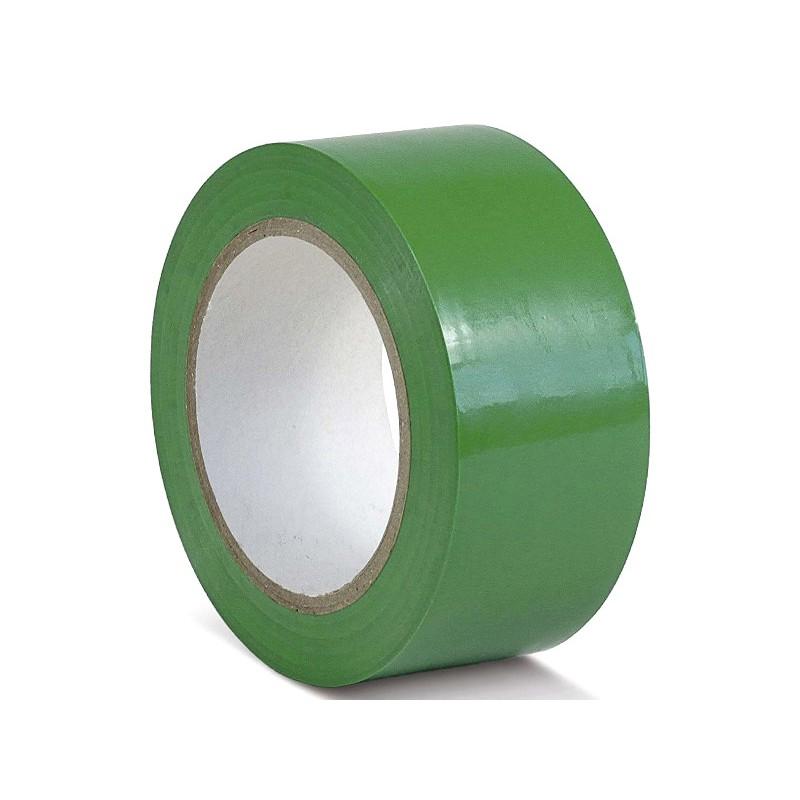 Лента ПВХ Мельхозе 50mm x 33m Green KMSU05033