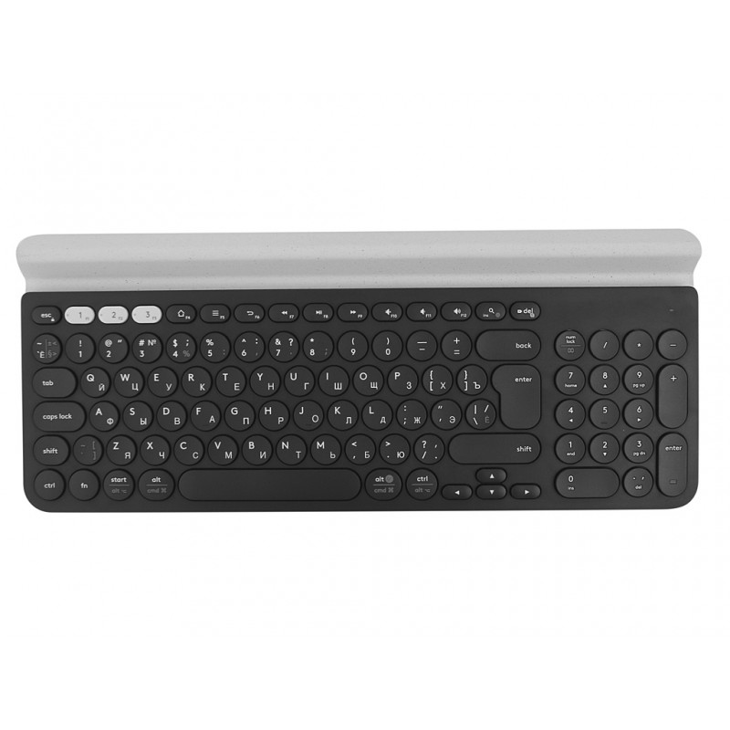 Клавиатура Logitech K780 Multi-Device Wireless Keyboard White 920-008043