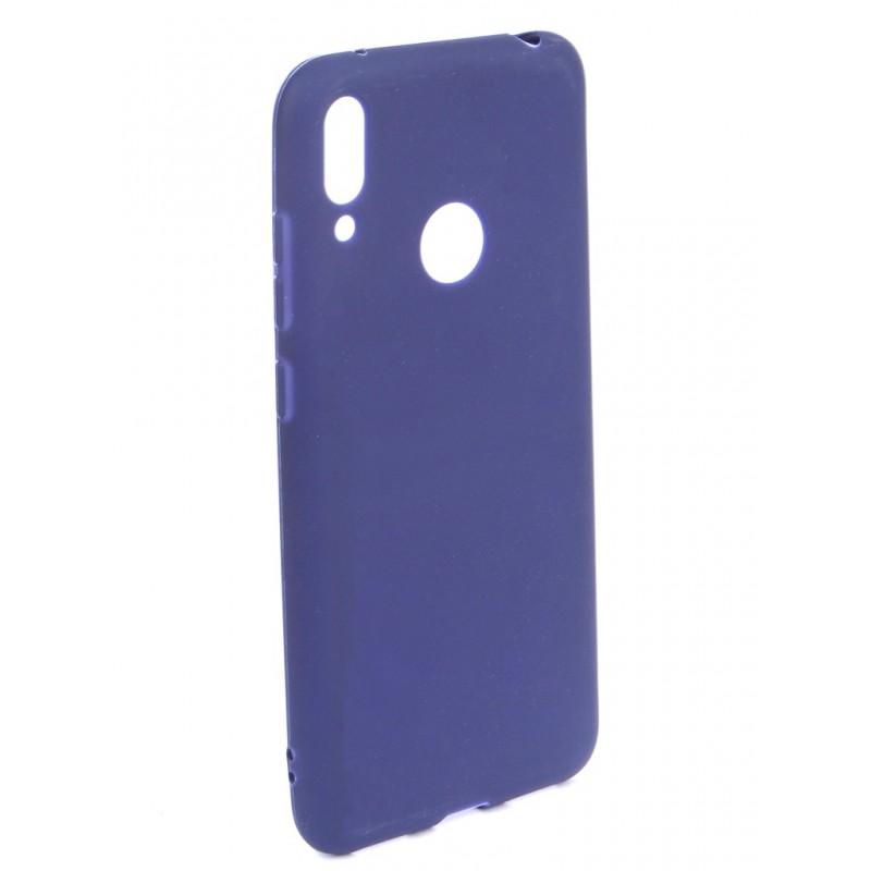 Чехол Zibelino для Huawei Y7 6.26 2019 Soft Matte Dark Blue ZSM-HUA-Y7-DBLU