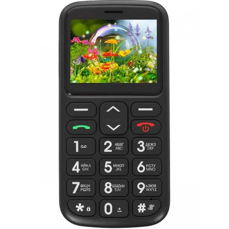 Сотовый телефон F+ Ezzy 2 Black