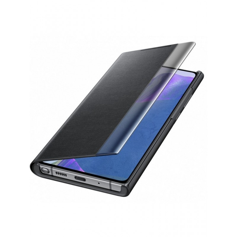 Чехол для Samsung Galaxy Note 20 Smart Clear View Cover Black EF-ZN980CBEGRU