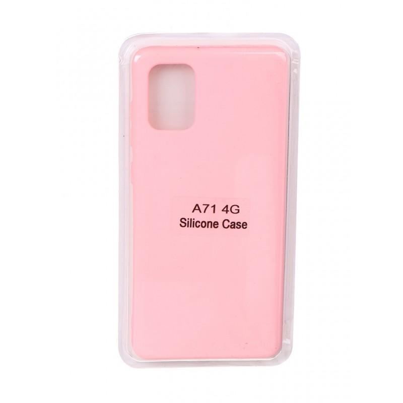 Чехол Innovation для Samsung Galaxy A71 Soft Inside Pink 18959