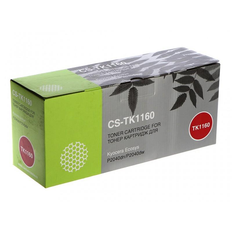 Картридж Cactus CS-TK1160 Black для Kyocera Ecosys P2040dn/P2040dw