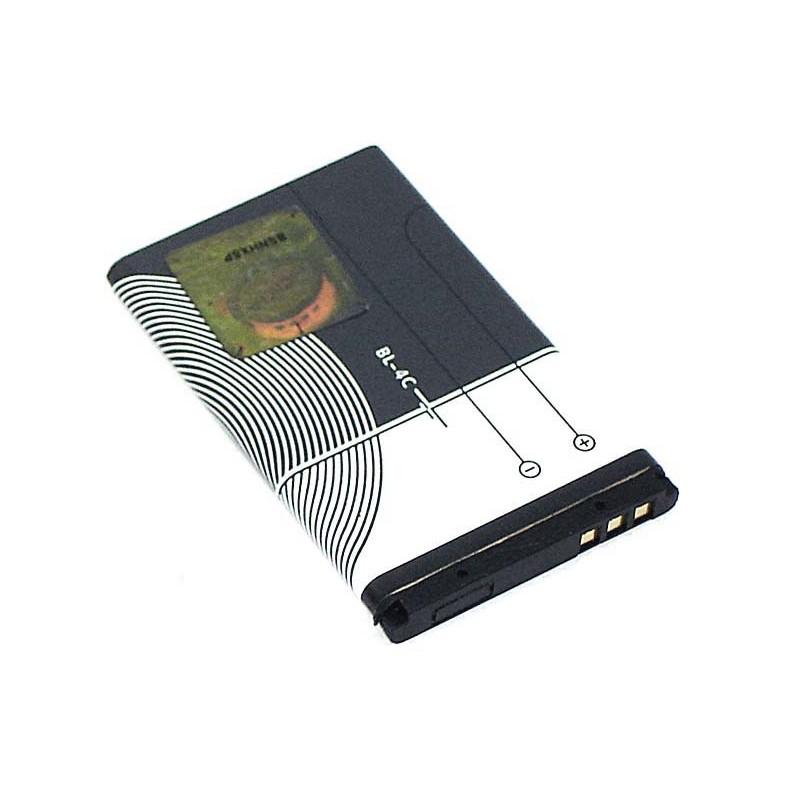 Аккумулятор Vbparts (схожий с BL-4C) для Nokia 6100 / 1202 / 1661 / 2220S / 2650 / 2690 / 5100 / 6101 / 6125 / 6131 / 6300 066503