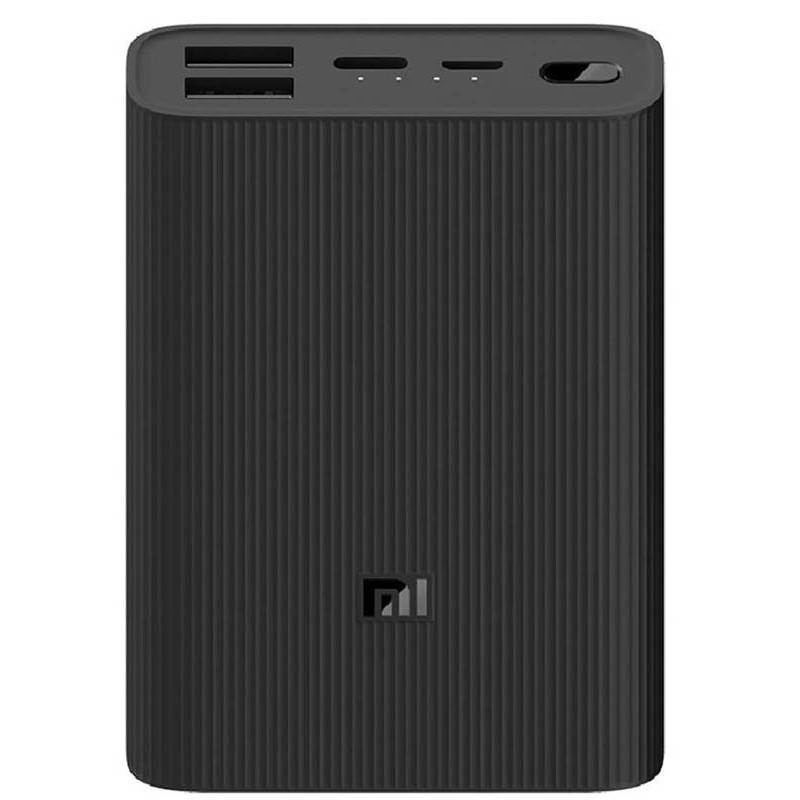 Внешний аккумулятор Xiaomi Mi Power Bank 3 Ultra Compact 10000mAh Black PB1022ZM Выгодный набор + серт. 200Р!!!