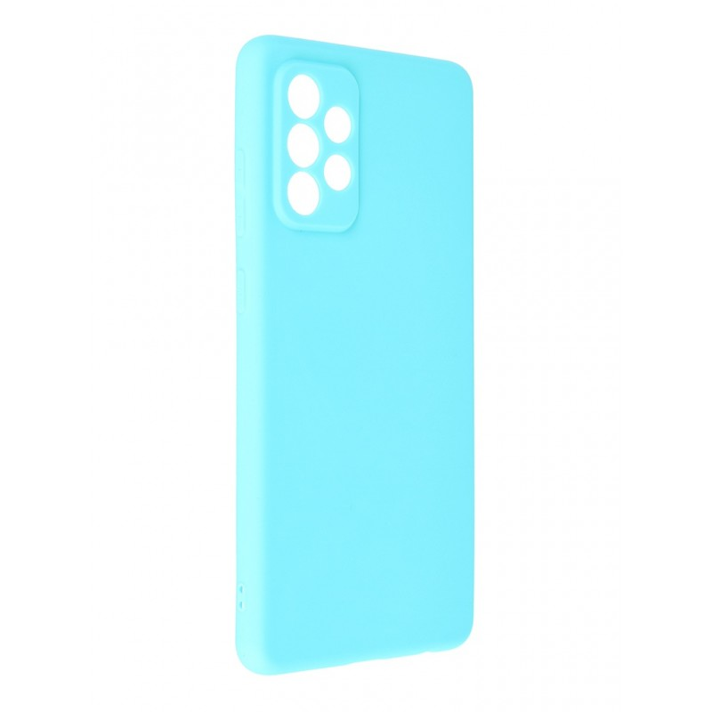 Чехол Neypo для Samsung Galaxy A72 2021 Soft Matte Silicone Turquoise NST22139