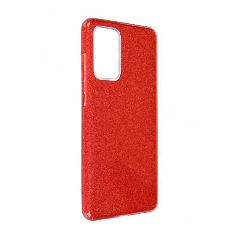 Чехол Neypo для Samsung Galaxy A72 2021 Brilliant Silicone Red Crystals NBRL21961