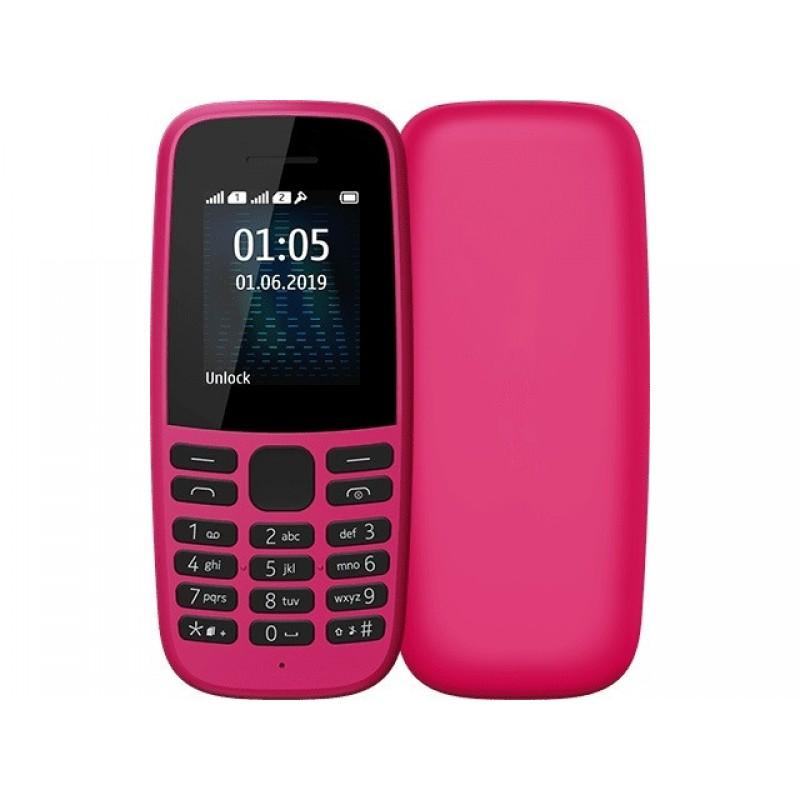 Сотовый телефон Nokia 105 DS (2019), розовый