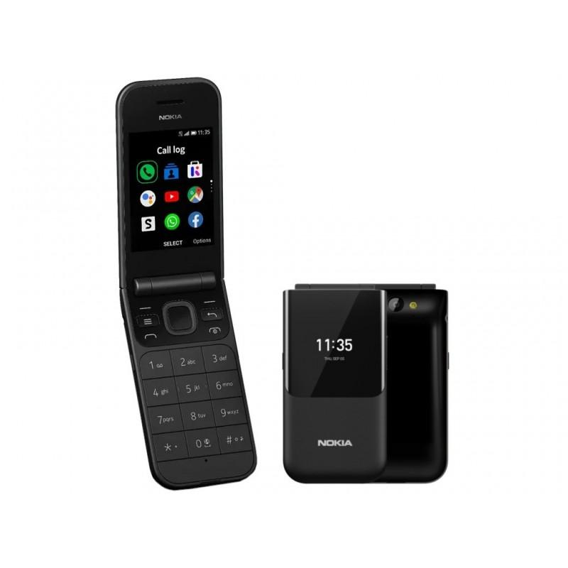 Сотовый телефон Nokia 2720 Flip (TA-1175) Black Выгодный набор + серт. 200Р!!!