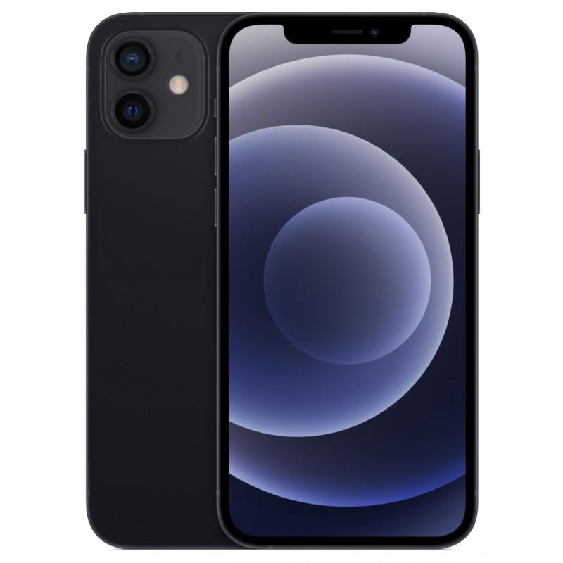 Сотовый телефон APPLE iPhone 12 128Gb Black MGJA3RU/A Выгодный набор + серт. 200Р!!!