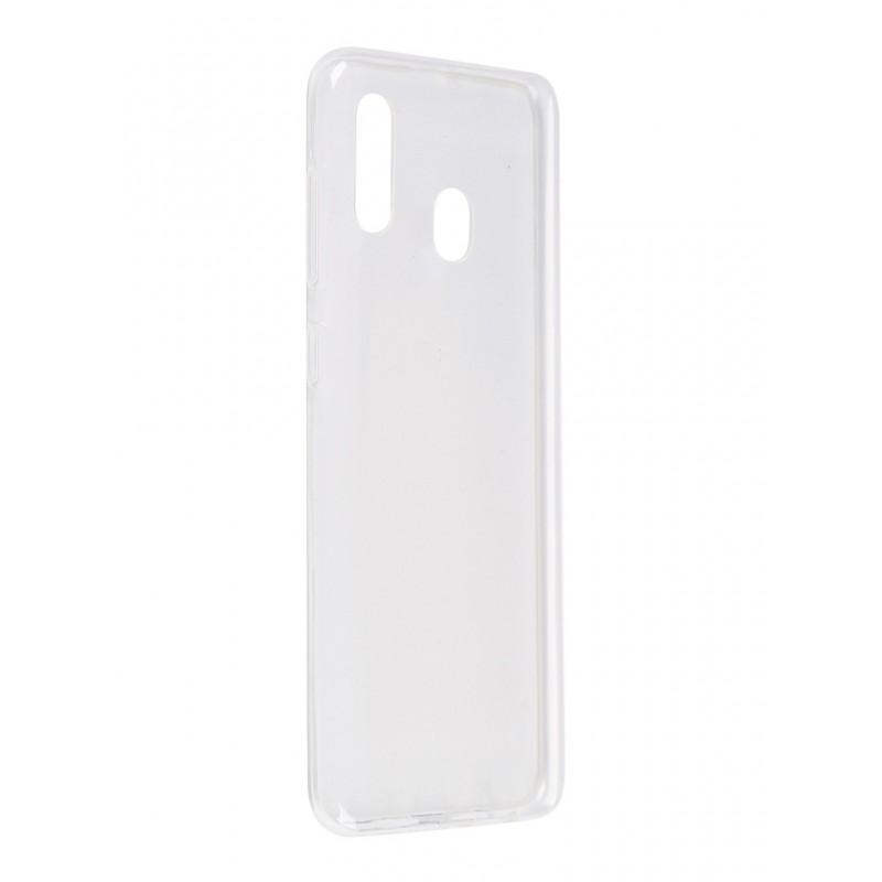 Чехол Pero для Samsung Galaxy M20 / A20 Silicone Clip Case Transparent CC01-M20TR