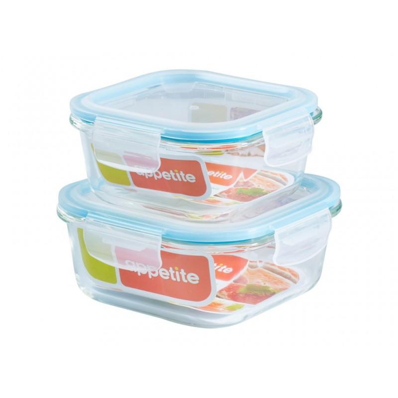 Набор контейнеров Appetite Blue SLSB