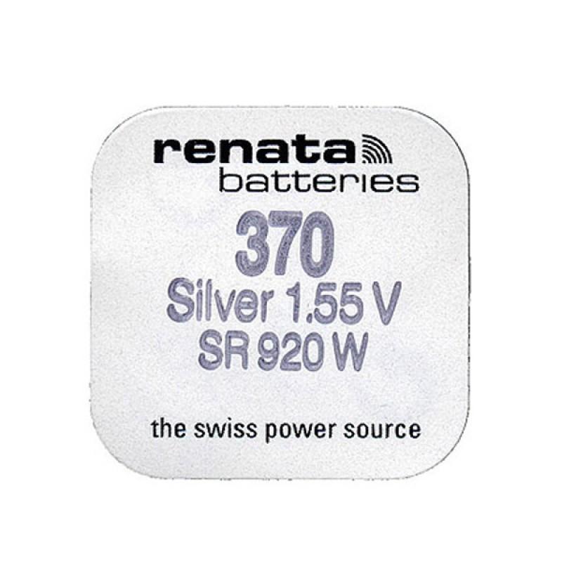 Батарейка R370 - Renata SR920W (1 штука)