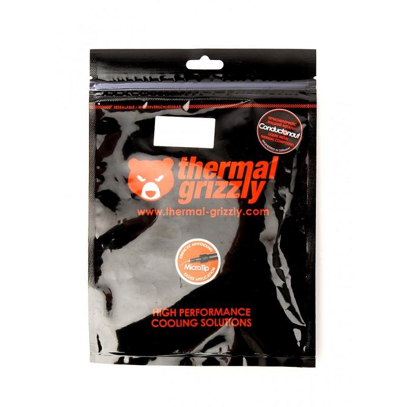 Термопаста Thermal Grizzly Conductonaut 1g TG-C-001-R