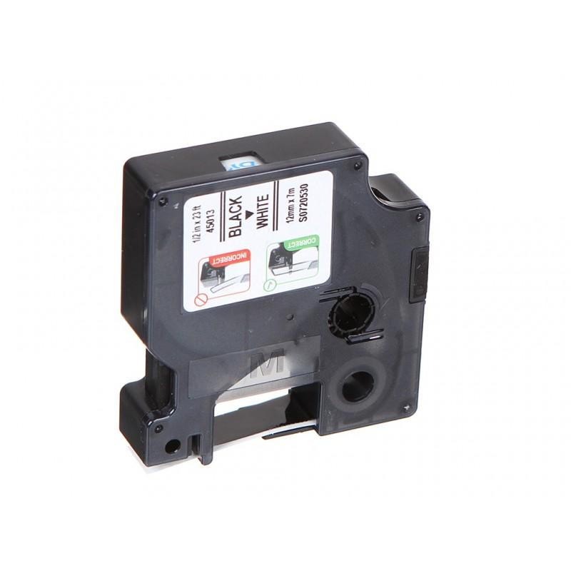 Картридж DYMO D1 12mm-7m для принтеров этикеток S0720530 / 360365