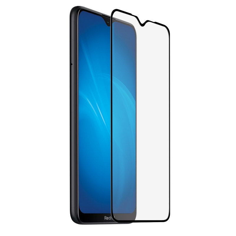 Закаленное стекло DF для Xiaomi Redmi Note 8T Black xiColor-74
