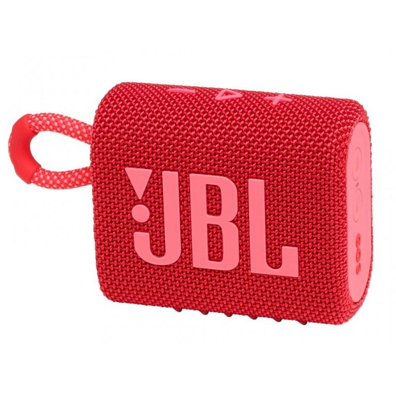 Колонка JBL Go 3 Red Выгодный набор + серт. 200Р!!!
