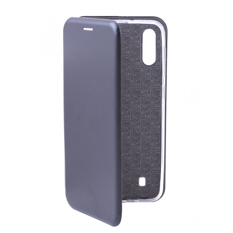 Чехол Innovation для Samsung Galaxy M10 Book Silicone Magnetic Black 15521