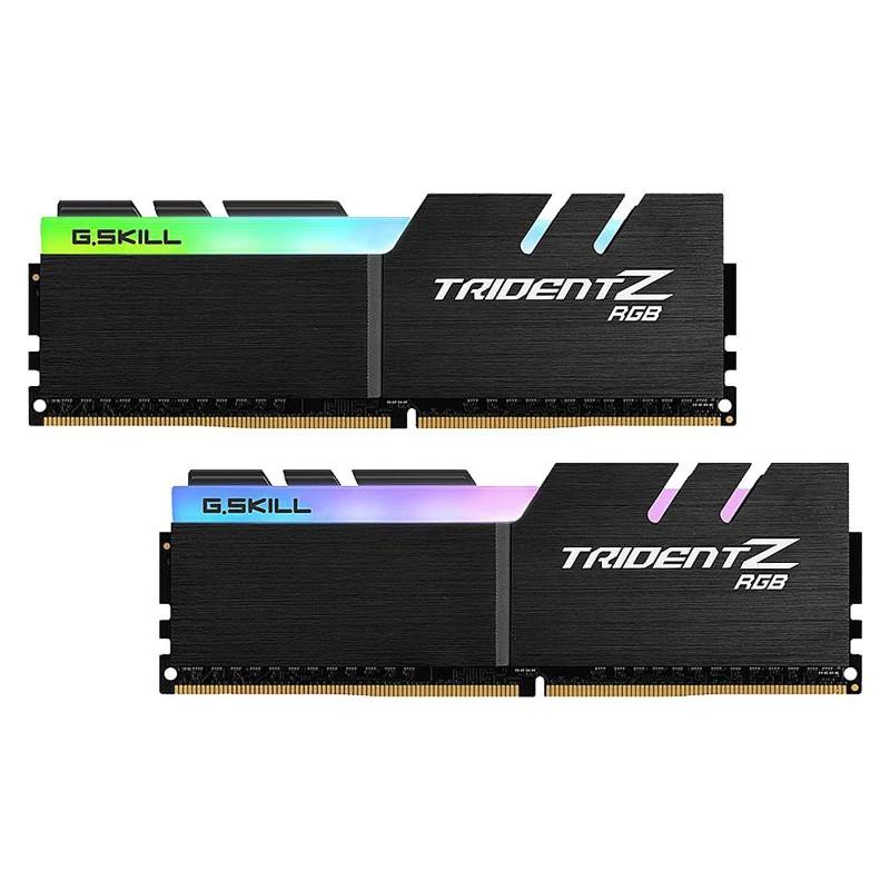 Модуль памяти G.Skill Trident Z RGB DDR4 DIMM 3600MHz PC-28800 CL14 - 32Gb KIT (2x16Gb) F4-3600C14D-32GTZR