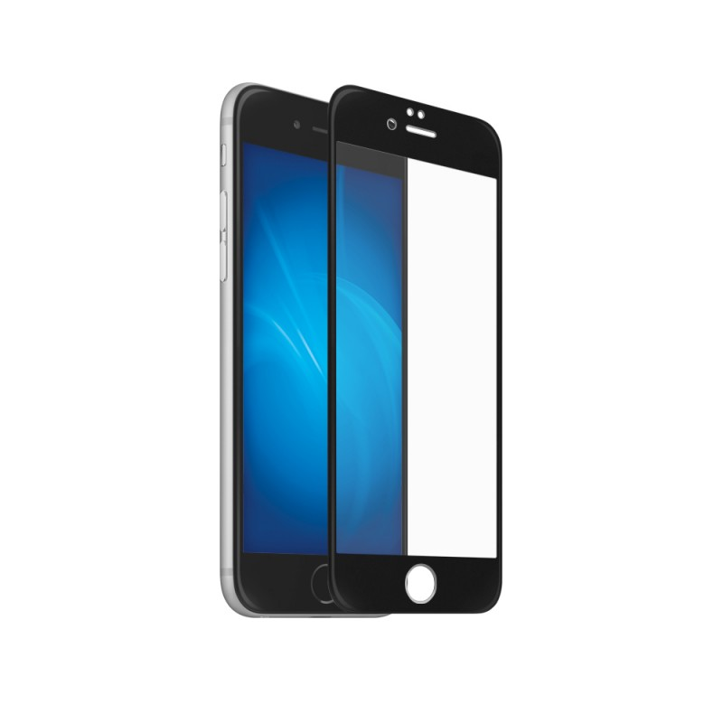 Защитное стекло Svekla для APPLE iPhone 6 / 6S Full Screen Black ZS-SVAP6-FSBL