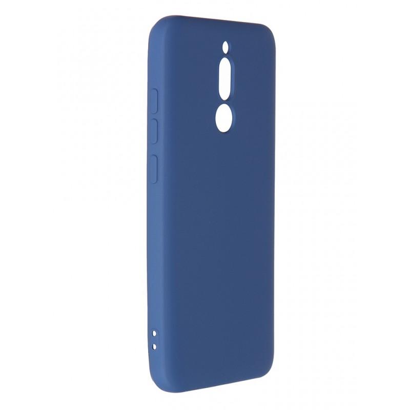 Чехол Krutoff для Xiaomi Redmi 8 Silicone Case Blue 12500