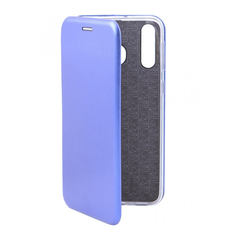 Чехол Innovation для Samsung Galaxy M30 Book Silicone Magnetic Blue 15502