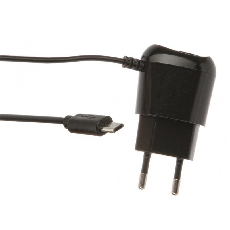 Зарядное устройство Red Line Lite micro-USB 1A TCP-1A Black УТ000010348