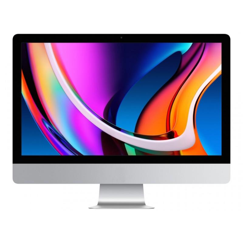 Моноблок APPLE iMac 27 Retina 5K (2020) Silver MXWU2RU/A (Intel Core i5 3.3 GHz/8192Mb/512Gb/AMD Radeon Pro 5300 4096Mb/Wi-Fi/Bluetooth/Cam/27/5120x2880/macOS X)