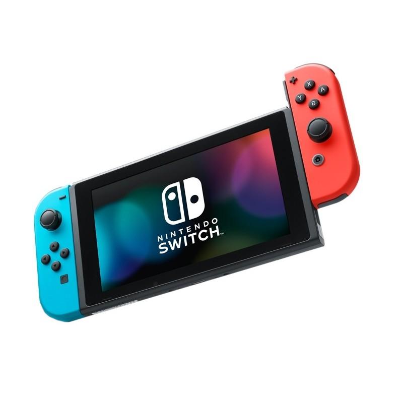 Игровая приставка Nintendo Switch Neon Red-Neon Blue HAD-001-01 Выгодный набор + серт. 200Р!!!