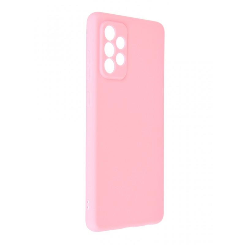 Чехол Neypo для Samsung Galaxy A72 2021 Soft Matte Silicone Pink NST22143