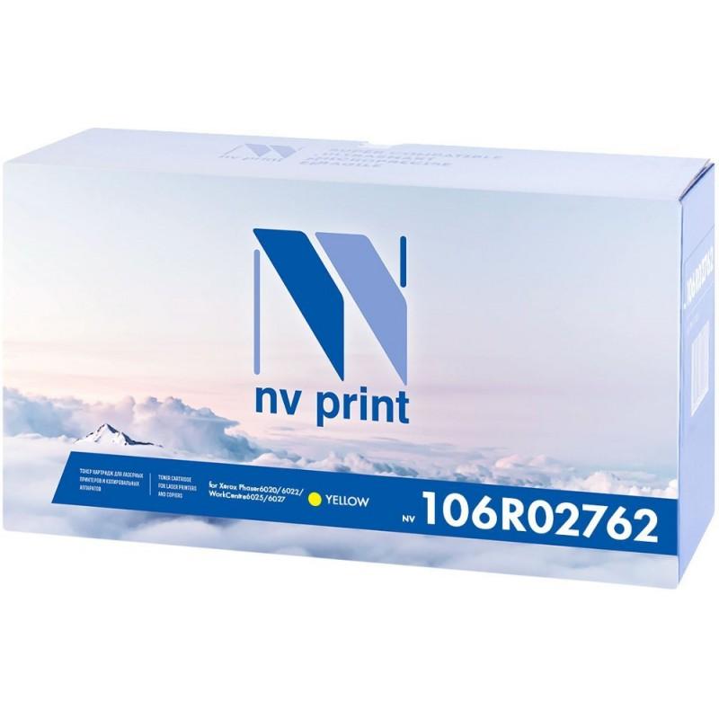 Картридж NV Print Yellow NV-106R02762Y для Phaser 6020/6022 / WorkCentre 6025/6027