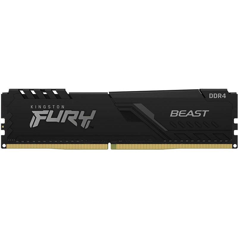 Модуль памяти HyperX Fury 16GB DDR4 3600MHz DIMM 288-pin CL18 KF436C18BB/16