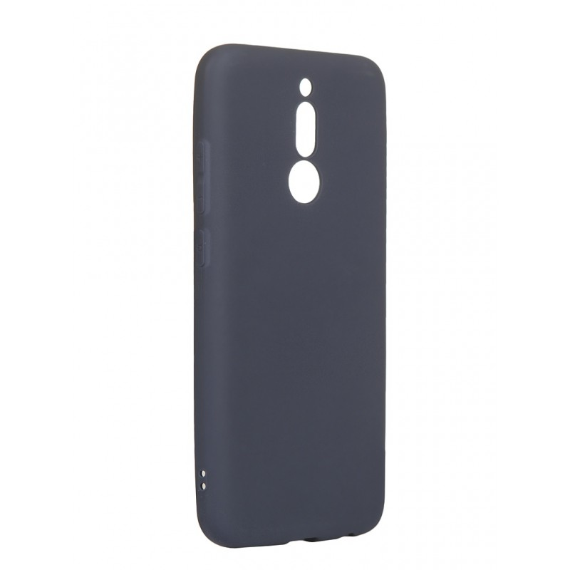 Чехол Zibelino для Xiaomi Redmi 8 2019 Soft Matte Dark Blue ZSM-XIA-RDM-8-DBLU