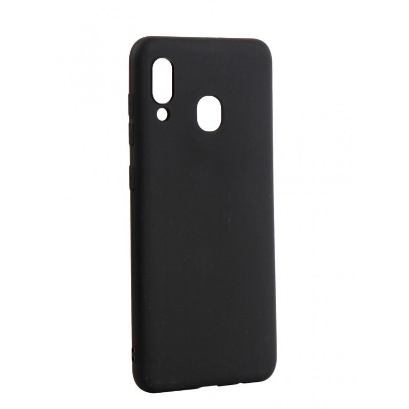 Чехол Pero для Samsung Galaxy A20 Soft Touch Black CC01-A20B