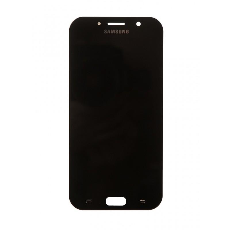 Дисплей RocknParts для Samsung Galaxy A7 SM-A720F (2017) Oled в сборе с тачскрином Black 743375