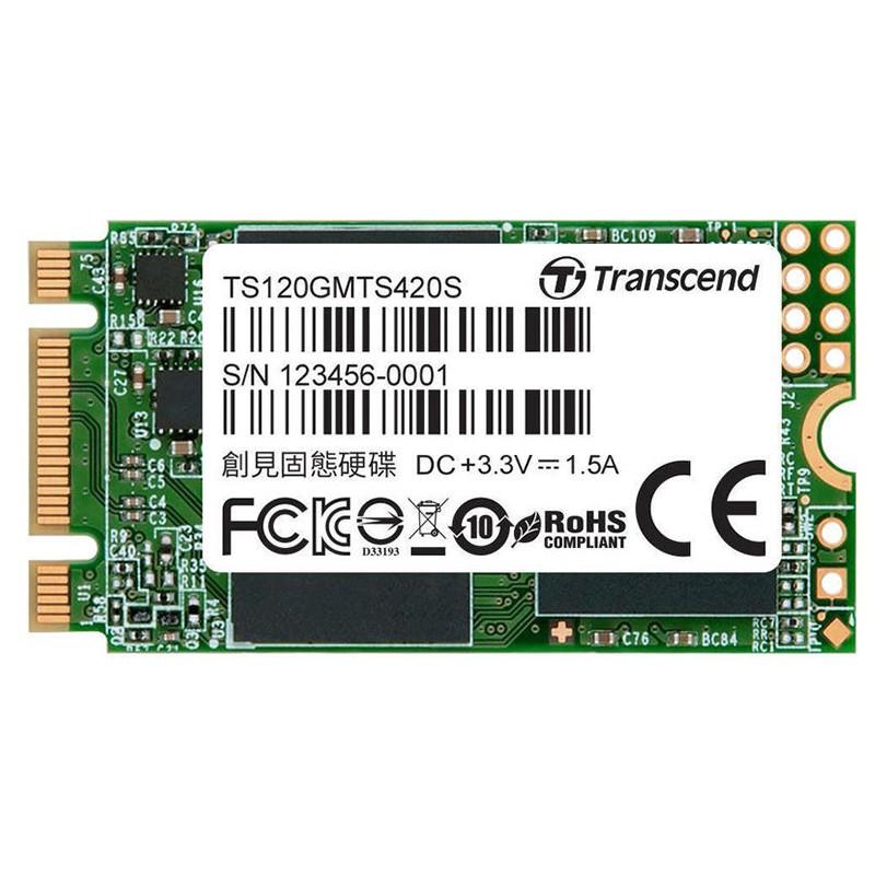 Твердотельный накопитель Transcend MTS420 120Gb TS120GMTS420S