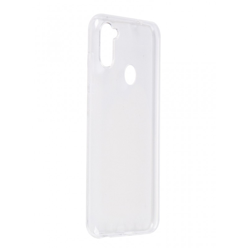 Чехол Pero для Samsung Galaxy A11 / M11 Silicone Clip Case Transparent CC01-A11TR