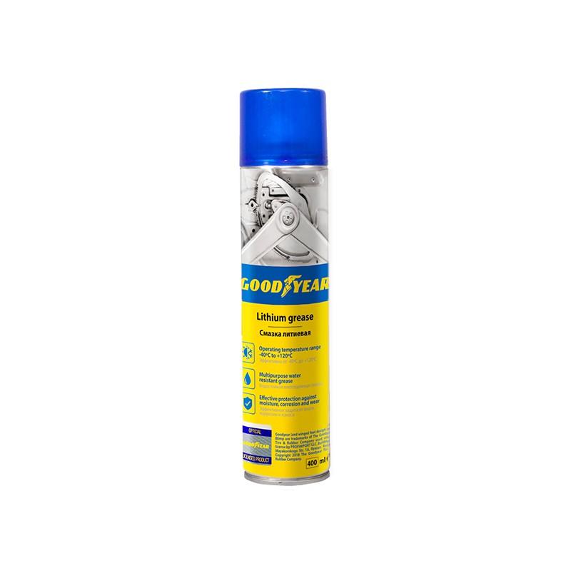 Смазка литиевая Goodyear 400ml аэрозоль GY000702