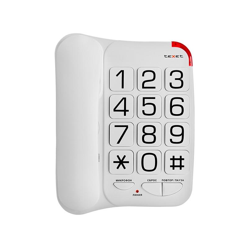 Телефон teXet TX-201 White