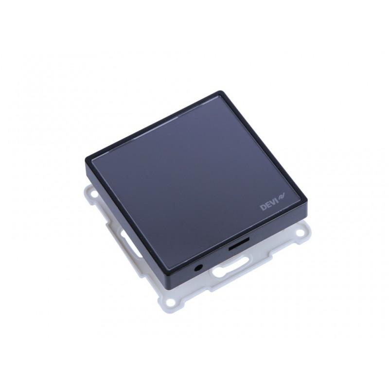 Терморегулятор Devi DEVIreg Smart Black 140F1143