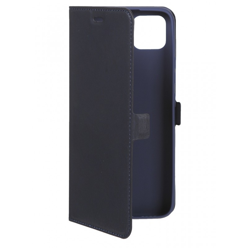 Чехол DF для Realme C11 Blue rmFlip-10