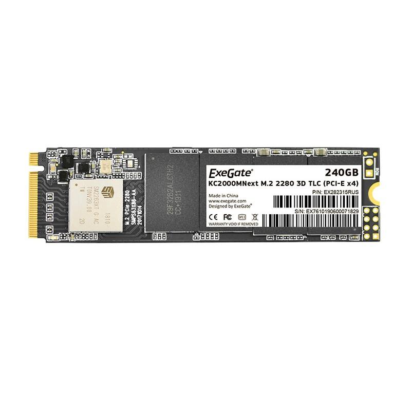 Твердотельный накопитель ExeGate SSD KC2000MNext 240Gb EX282315RUS