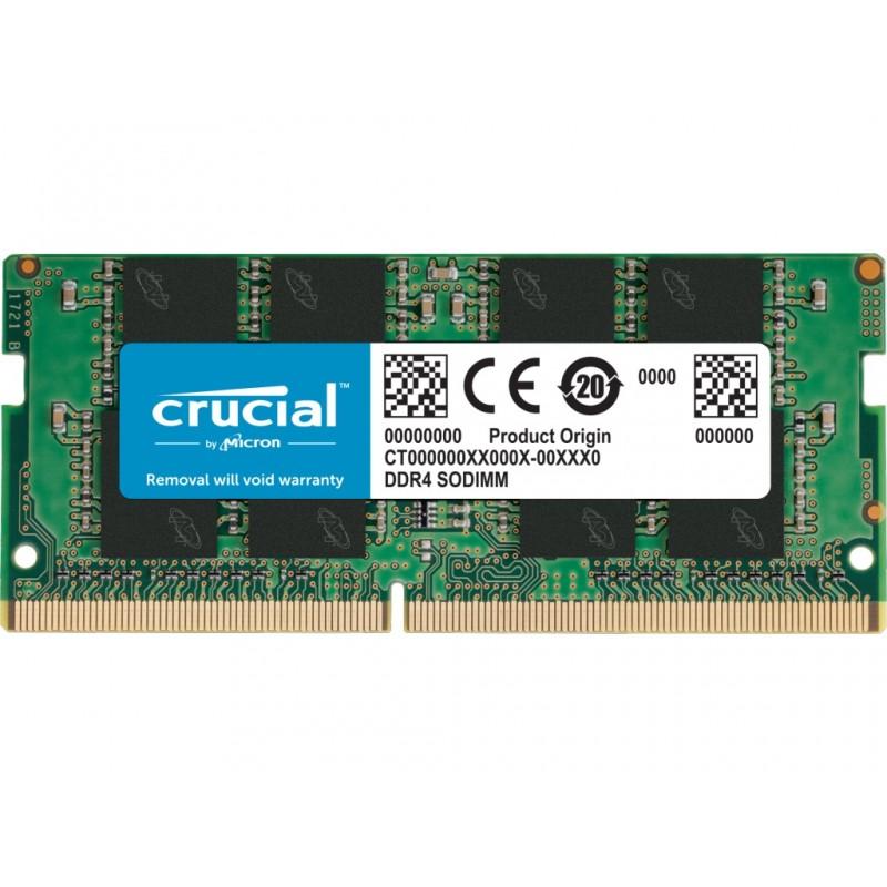 Модуль памяти Crucial DDR4 SO-DIMM 2666MHz PC21300 CL19 - 8Gb CT8G4SFRA266